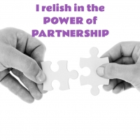 I Relish in the Power of Partnership