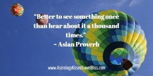 Better to See Something Once ...