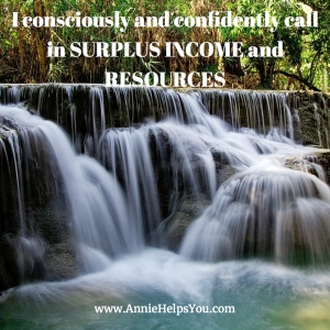 I Consciously & Confidently Call in Surplus Income and Resources