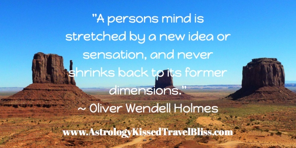 """A Person's Mind is Stretched ..."""